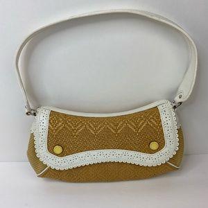 Vintage Cole Haan Megan Straw Handbag